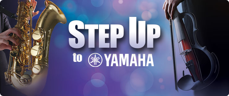 Step Up To Yamaha Promotion